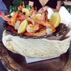 Grilled shrimp at @RosesLuxury pic.twitter.com/0zceN1YuGI