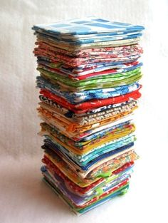 Etsy Find: Recycled Vintage Fabric Coasters