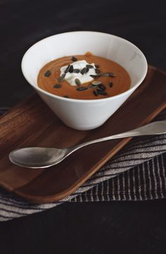 Sweet Potato Soup for cold days