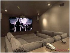 Home Theater Room Design, Movie Theater Rooms, Home Cinema Room, Home Theater Seating, Cinema Room Small, Small Movie Room, Theater Seats, Lounge Seating, Salas Home Theater