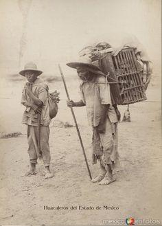 Fotos de Toluca, México, México: Huacaleros Tipicos Mexiquenses Circa 1900