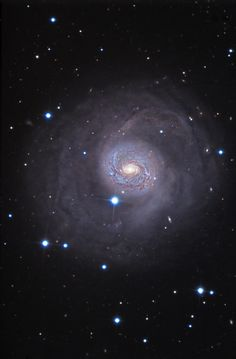 "M77, a Seyfert Galaxy with an active black hole in its nucleus. It's located nearly sixty million light years away. in the constellation Cetus. ©Mona Evans, ""Cetus the Sea Monster,"" http://www.bellaonline.com/articles/art178756.asp"