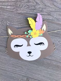 Woodland Decor, Woodland Baby, Woodland Animals, Wild One Birthday Party, Baby Birthday, First Birthday Parties, Activities For Kids, Crafts For Kids, Party Places