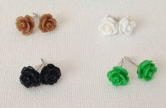 Dainty Flower Earrings - Perfect Stocking Stuffer 58% off at Groopdealz