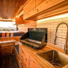 The 5 Best Affordable RVs and Camper Vans for Sale Rent Camper, Kitchen Box, Cubby Storage, Van For Sale, Portable Toilet, Cargo Van, Butcher Block Countertops, Mercedes Sprinter, Wood Interiors
