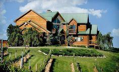 Lodging at Elk Creek Vineyards  South of Cincinnati