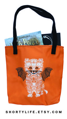 Halloween tote bags that are cute, comfortable, and durable for not only the month of October but, for the rest of the year.
