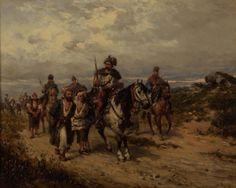 "Gędłek Ludwik (1847-1904) ""Jeńcy"""