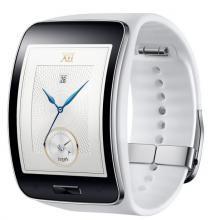 Watch, Samsung, Watch SM-R7500 GALAXY GEAR S, White (SM-R7500ZWABGL)