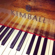 Kimball Mahogany Baby Grand Piano Kimball C 1950 S