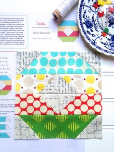 My Go-Go Life: The Splendid Sampler Block 10