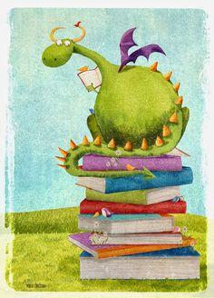 Momo: Un dragón lector / Mónica Carretero