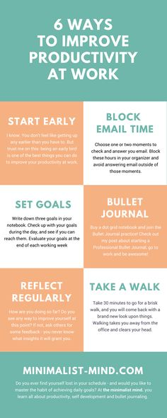 Looking for simple ways to improve your productivity at work? I listed 6 simple ways to boost your office mana. Ready to regain your focus? Blog Tips, Office Organization At Work, Office Ideas, Time Management Tips, Office Management, Work Cubicle, Need A Job, Work Planner, Work Success