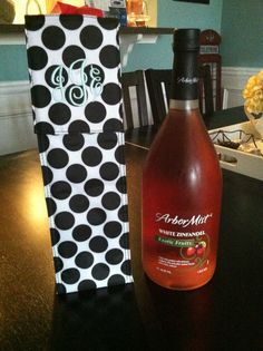 Thirty one perfect bottle thermal is a great way to keep your bottle cool on your way to a dinner party!