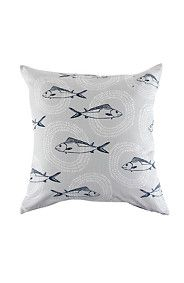 Loves these fishies - perfect for Pennington Home Scatter Cushions, Throw Pillows, Beach Pillow, Cushion Covers, Pillow Cases, Cool Designs, Sweet Home, Fish, Home Decor