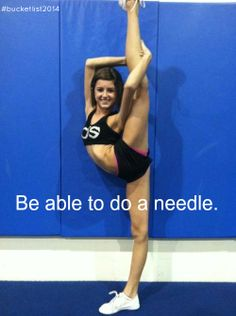 I WILL GET MY NEEDLE BEFORE I GRADUATE!!!!!!!