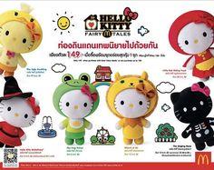 McDonald's Hello Kitty Fairy Tale Toys Revive Classic Storybook Tales #hellokitty trendhunter.com