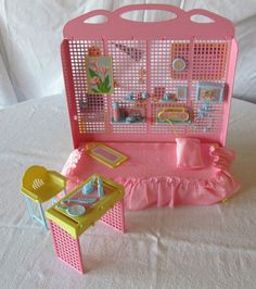 Barbie Skipper Teen Time Sleep N Study 1988 Mattel 1921 Very Nice Set | eBay