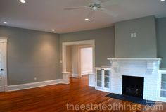 Want the small built-ins in the doorway between our living room & dining room.