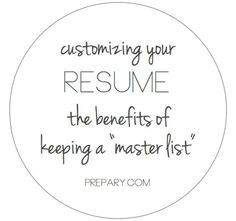 How To Customize Your Resume For A Job #ThePrepary