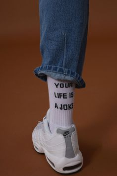 ADER error - Your life is a joke socks