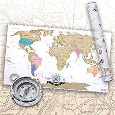 Scratch Off World Map - Weltkarte zum Rubbeln - Rubbel La... https://www.amazon.de/dp/B00KHVD3U6/ref=cm_sw_r_pi_dp_MbRtxb4QRSQVR