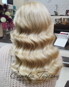Waves hairstyle