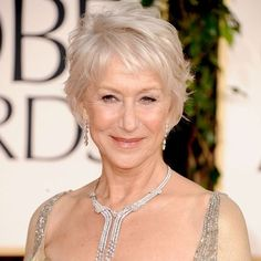 How to Get Helen Mirren's Tousled Golden Globes Hairstyle