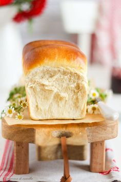 Pan de leche japonés Hokkaido | Con aroma de vainilla