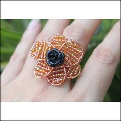 Wire Beaded Rose Jewelry Making Tutorial