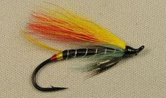 Black Doctor Classic Hairwing Salmon Fly - Tied on a modern hook