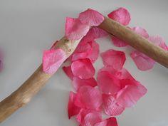 lot de 50 pétales de fleurs rose : Décoration d'intérieur par elyse-passion-crea