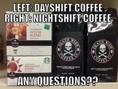 Day shift vs Night shift.... True!