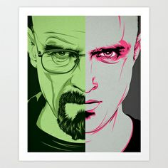 Breaking Bad Art Print by CranioDsgn!!!
