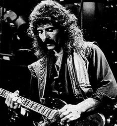 Tony Iommi - Black Sabbath. One of the progenitors of heavy metal. And a damn good guy.