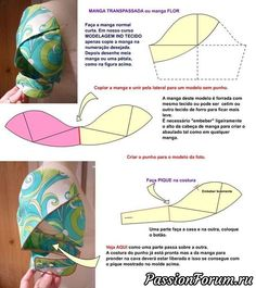 I think I want to make all my sleeves petal / tulip sleeves =) - Salvabrani Sewing Hacks, Sewing Tutorials, Sewing Crafts, Sewing Projects, Techniques Couture, Sewing Techniques, Pattern Cutting, Pattern Making, Dress Sewing Patterns