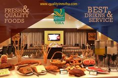 """Life is Short, eat Desert first""-Unknown Find the Fine Dining in Kumbakonam @ #QualityInnViha #RestaurantsKumbakonam"