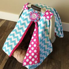Car seat Canopy FREE shipping code today by SooShabbyChic on Etsy, $37.99