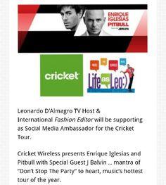 #lifeasleo  Latism feasleo #pitbull  #tour #STSA,@Pitbull @enrique305#CricketNation #Hispanicize#Concert#CricketTour #CricketWireless#enriqueIglesias