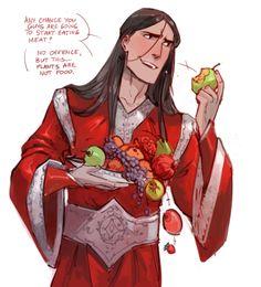 melkorwashere:  sudden doodle of Valinor Melkor >3