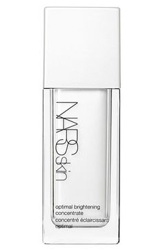 Nars Skin Optimal Brightening Concentrate as used at Christopher Kane. Design Fabien Baron
