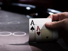 The online casino is the answer. Play poker now, and keep your cards close to your chest.