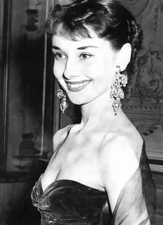We Had Faces Then — Audrey Hepburn, 1954