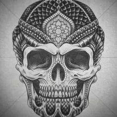 Polynesian skull