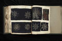 Book of beading samples from Jeanne Lanvin,1920~Image © Patrimoine Lanvin. #Lanvin125