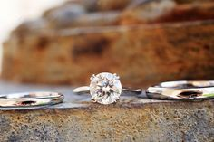Pretty #wedding ring set