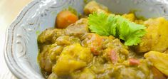Paleo Curried Lamb Hotpot