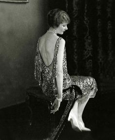 Actress Alden Gay Wearing A Dress By Chanel, 1924