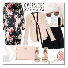 """""""get the look"""" by vkmd ❤ liked on Polyvore featuring Alexander Wang, Hobbs, Chloé, Versace, Diane Von Furstenberg, Gucci, Christian Dior, Kenneth Jay Lane and oversizedflorals"""