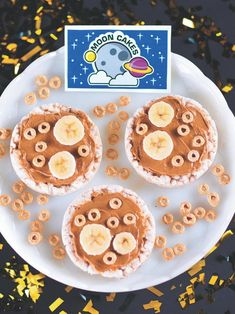 Explore the delicious craters and ridges of the lunar surface with this God's Galaxy VBS Healthy Moon Cakes Snack Recipe Idea! Give your students . Space Activities For Kids, Space Preschool, Preschool Snacks, Moon Activities, Classroom Snacks, Preschool Cooking, Pirate Activities, Online Classroom, Preschool Themes